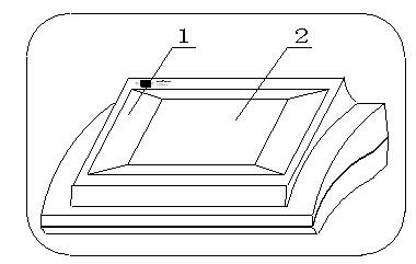 电脑主机内部结构图手绘